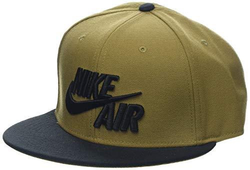 Nike Air True EOS - Cappellino da uomo, dorato (Golden Beige/Black/Black), taglia unica