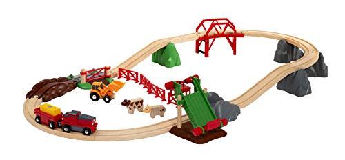 BRIO- Juego Libre con Sistema de Trenes (33984)