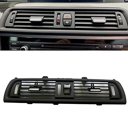 Front Air Grille AC Vent Interior Center Console Air Vent Dashboard AC Ventilation Conditioning Outlet Replacement for BMW 5 Series F10 F11 520 523 525 528 530 535 550 2010-2016
