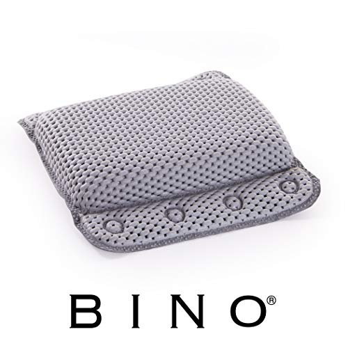 BINO Non-Slip Cushioned Bath Pillow with Suction Cups, Mint Green - Spa Pillow Bath Pillows for Tub...
