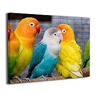 Skydoor J パネル ポスターフレーム 春の鳥 インテリア アートフレーム 額 モダン 壁掛けポスタ アート 壁アート 壁掛け絵画 装飾画 かべ飾り 30×40