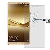 YINZHI画面保護フィルム、 50 PCS Huawei Mate 8用 0.26mm 9H表面硬度2.5D防爆型強化ガラスフィルム、リテイルパッケージなし HD、Huaweiに対応