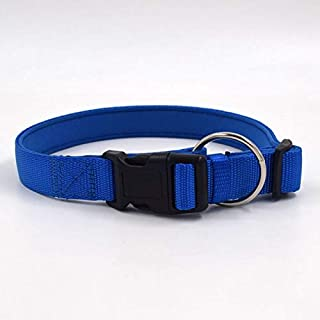 EZONEDEAL Dog Harness Durable Nylon Dog Collar Adjustable Pet Dogs Collars Pet Puppy Cat Pet Safety Nylon Necklace Fashion...