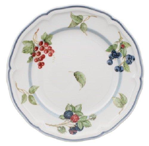 Villeroy & Boch Cottage Plato para desayuno o postres, 21 cm, Porcelana Premium, Blanco/Colorido