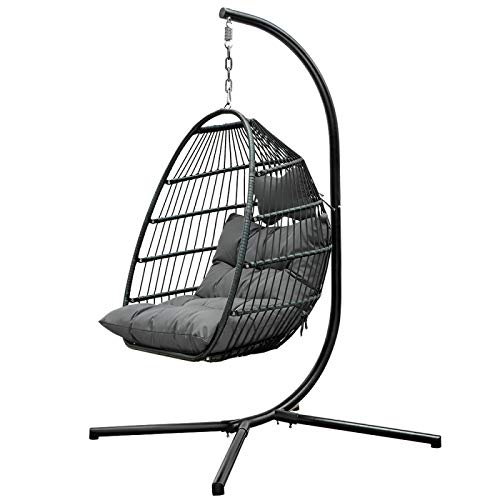 Hanging Chair Swing Hanging Basket Wicker Chair Household Leisure Lazy Indoor Balcony Bird39;S Nest Chair Single Hammock Cradle Chair Rocking Chair