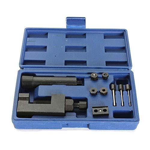 Yongenee ATV Motorcycle Heavy Duty Motorcycle Chain Breaker & Riveter Repair Kit 520/525/530/630 Industrial tools