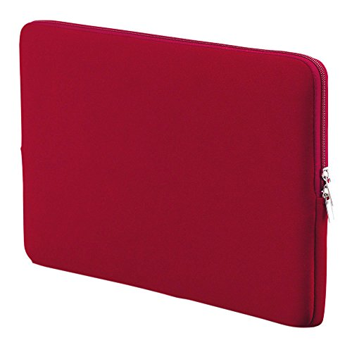 Soft Sleeve Bag Case 15''-15.6'' Portable Laptop Bag Replacement for MacBook Pro Retina Ultrabook Laptop Red