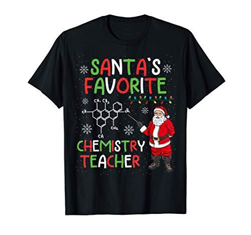 regalo de navidad del profesor de química Camiseta