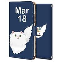 Zenfone Go ZB551kl ケース 手帳型 カバー 耐衝撃 スマホケース おしゃれ かわいい 純正 人気 花柄 全機種対応 誕生日3月18日-猫 かわいい アニマル 3715839