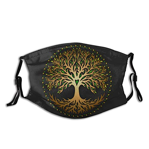 Celtic Tree of Life Face-Mask Reusable Comfortable Breathable Outdoor Dustproof for Men Women