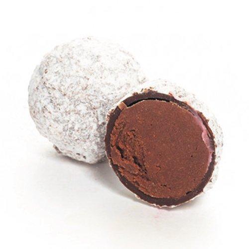 Pralinen 1kg Schachtel von Marc de champagner- Schokoladentrüffel aus getrockneter dunkler Schokolade |Schokoladen Geschenke|