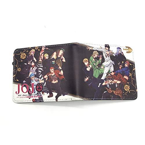 MARYBHJJ Mens Women Unisex 3D Anime pattern Wallets Soft PU Leather Slim Bifold Purse, ID Window Credit Card Holder Coins Pocket Artwork Money Clip Naruto