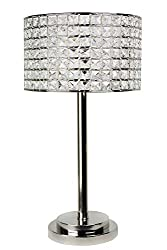 Decorative Crystal Table Lamps for Bedroom