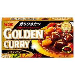 エスビー食品 S&B ゴールデンカレー 辛口 198g×10個入×(2ケース)