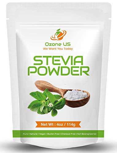 Stevia Powder Pure Stevia Extract Sugar Substitute Stevia Baking Stevia | Zero-Calorie Sweetener NO AFTERTASTE - 4oz (Premium)