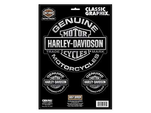 Harley-Davidson Aufkleberset Trademark Classic Graphix