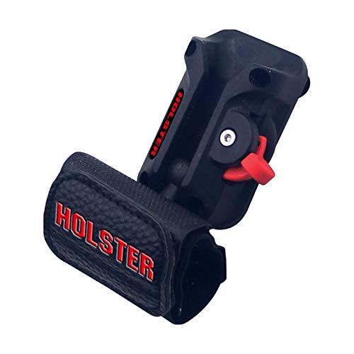 GSDGV Juego de funda para herramientas, funda de herramientas con cinturón de cintura, resistente, duradero, móvil, hebilla de almacenamiento, bolsa de herramientas multifuncional (tamaño: tipo A)