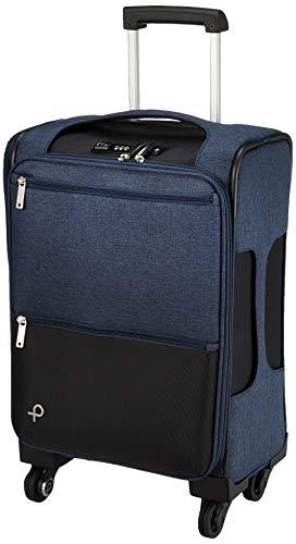 [プロテカ] スーツケース等 日本製 アクトーイ 1~2泊向け ソフトトロリー サイレントキャスター キャスターストッパー付き 機内持ち込み可 30L 45 cm 2.9kg ネイビー