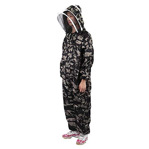 Bienenschutzanzug, Imker Kittel Anzug Einteilige Imker Uniform Schleier Schutz Outfit Imker Ausrüstung(L)