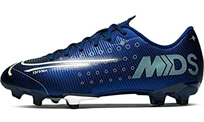 Nike Youth Mercurial Vapor XIII Academy MDS FG (1 Little Kid US) Blue/Black