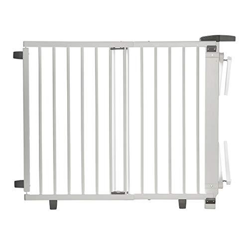 Geuther, EASYLOCK 2735+, Barrière de sécurite pivotante pour escalier, Blanc, 95 cm