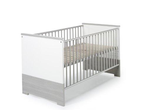 Schardt Eco Lit de bébé Argenté 70 x 140 cm