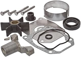SEI MARINE PRODUCTS-Compatible with Evinrude Johnson Water Pump Kit 40 48 50 55 60 70 75 HP 2 Stroke Half Moon Key