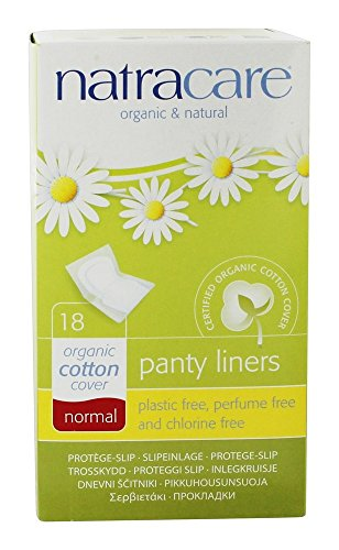 Natracare - Normal de algodón cubierta Panty Liners - 18Liner(s)