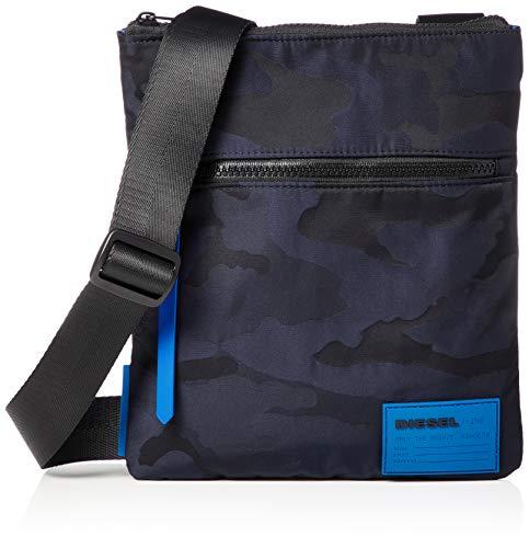 Diesel Herren UZ F-Discover Cross bodybag Kuriertasche, Nachtblau, Einheitsgröße