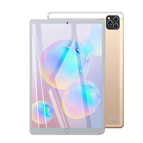 LHONG Tablet 10.1 Pulgadas Android 5.1, Equipada Procesador Octa-Core Núcleos a 1.3Ghz, 1GB Ram + 16GB ROM, Cámara Dual, WiFi