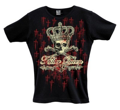 Killer Queen - Cross of Blood Girlie-Shirt