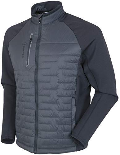 Sunice Hamilton Men's Windproof Jacket - Full Zip Thermal Stretch Windbreaker
