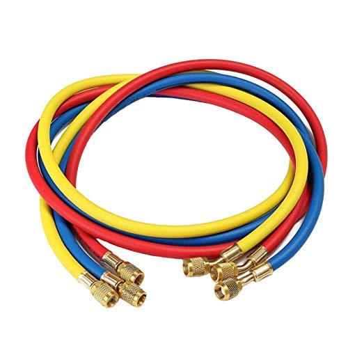 Lifeyz 72 Inch AC Freon Charging Hose HVAC Refrigerant For R12 R22 R404 R502 R134A Car Air Conditioning Refrigeration Tube (Color : 36 inch)