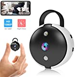 Spy Camera Hidden Wifi Wireless Mini Home Security Surveillance Camera 1080P Full HD Night Vision Motion Detection Covert Tiny Nanny Video Cam with App for Home Indoor Outdoor