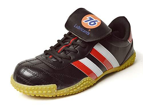 [セブンティーシックスルブリカンツ] 安全靴 メンズ スニーカー セーフティー シューズ 鉄先芯 マジックテープ メンズ 靴 作業靴 ブラック レッド グレー 27cm