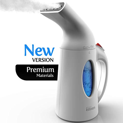 Why Choose iSteam Steamer for Clothes [Home Steam Cleaner] Powerful Travel Steamer 7-in-1. Handheld ...