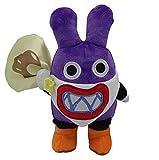 Juyo 8.7' Super Mario Bros. U Nabbit Purple Rabbit Plush Toy Stuffed Animal Figure.