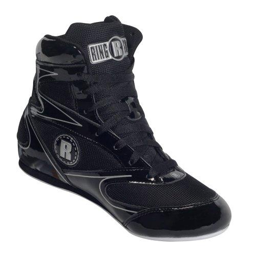 Ringside Diablo Wrestling Boxing Shoes, 10, Black
