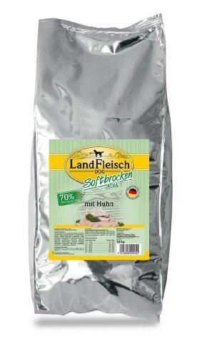 Landfleisch Dog Softbrocken mit Huhn, 1er Pack (1 x 1.5 kg)
