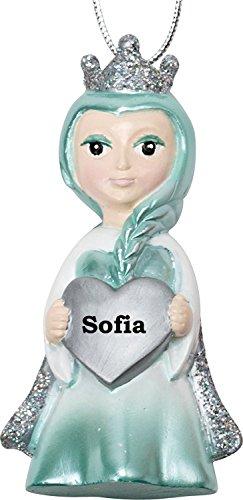 Suki Gifts - Décoration de la reine des neiges pour sapin de Noël - Personnalisable