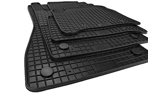Kfzpremiumteile24 Gummimatten Kompatibel mit E-Klasse W211 S211 CLS W219 Fußmatten Allwetter