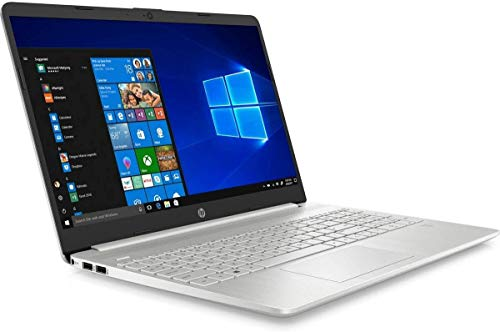 """HP 15S-FQ1002NA Silver 15.6"""" FullHD Notebook Intel Core i5 1035G1, 8GB DDR4, 256GB Solid State Drive Wireless 11ac & Bluetooth 4.2, Windows 10 Pro - UK Keyboard Layout – Non-HP Plain Boxed"""