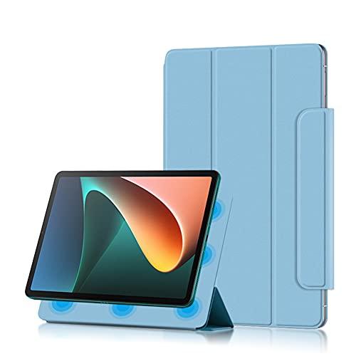 Fitudoos Funda Compatible con Xiaomi Mi Pad 5/Mi Pad 5 Pro 11 Pulgadas,Conexión magnética con Función Soporte, Azul.