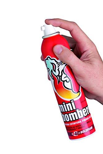 Schiuma spray antincendio per estinguere incendi di olio, solidi, idrocarburi, liquidi polari ed elettrici. Schiuma antincendio. Estintore auto, casa, roulotte, Tenere a <49 ℃