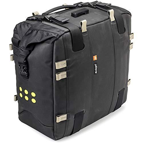 Kriega Motorrad Satteltaschen für Motorrad Taschen Satteltasche Adventure Pack OS-22 wasserdicht 22 Liter, Unisex, Tourer, Ganzjährig, Polyamid, schwarz
