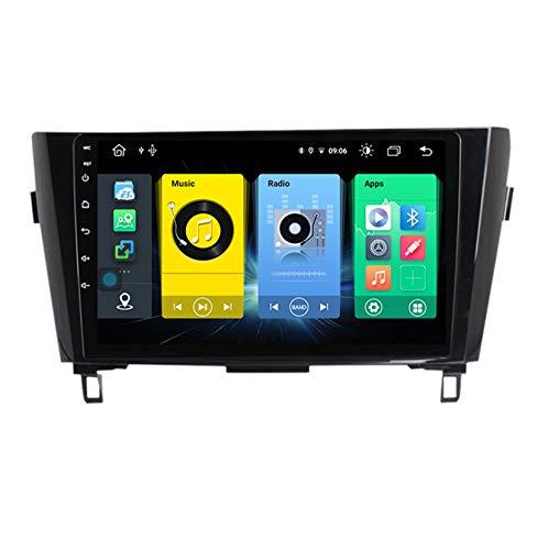 HARBERIDE Android Car Stereo Radio De Coche 9 Pulgadas Unidad Principal Reproductor Multimedia Receptor De Video Carplay para Nissan Qashqai X-Trail 2013-2017 Autoradio Mit Navi,C150