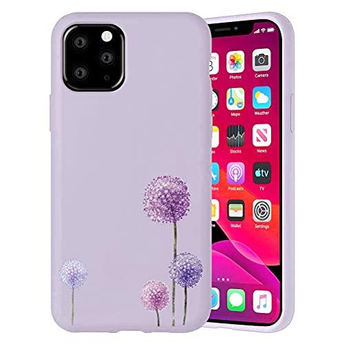 Yoedeg Funda para Apple iPhone 6 Plus/6s Plus con Dibujo Diseño 5,5', Funda de Ultra Suave Gel TPU Silicona Carcasa Protección Antigolpes Resistente Bumper Cover para iPhone 6S Plus, Diente León
