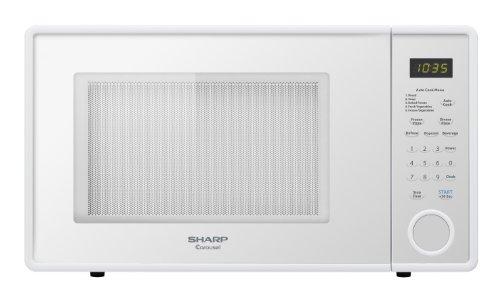 Sharp R-309YW Microwave (1.1 cu.ft.), White, Standard