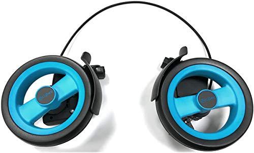 Cybex Callisto Jeremy Scott - Juego de rueda trasera, color turquesa