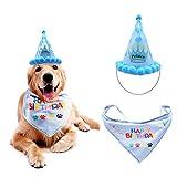 Babero lindo del animal doméstico del gato del perro sombrero del cumpleaños gorras sombrero del partido del feliz cumpleaños Apoyos para mascotas Accesorios de cumpleaños Sombreros Decoración